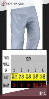 Easton Baseball Pants Size Chart Easton Youth Baseball Pants Pro Pull Up Gray Easton Youth