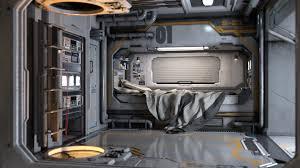 Science Wallpaper Bedroom Sci Fi Bedroom By Retrodevil Daz Studio Science Fiction