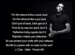 J Cole Lyric Quotes Unique J Cole Hello Lyrics Quote Forest Hill Lyrics Pinterest Lyric