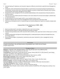 Database administrator resume sample page 2 According to Payscale: