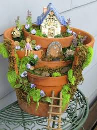 diy home garden projects broken pot fairy garden home depot diy garden projects