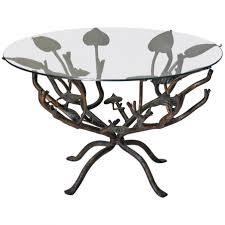 round coffee table wonderful small round wrought iron coffee pertaining to modern tree and