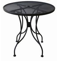 outdoor metal table. Perfect Metal Marsaille Round Outdoor Metal Mesh Table To L