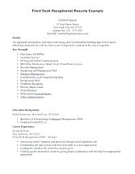 Sample Of Receptionist Resume Best of Resume Example For Receptionist Resume Examples Templates Awesome