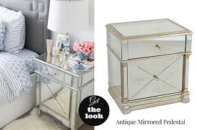 mirror finish furniture. Get The Look - Mirror Pedestal Finish Furniture