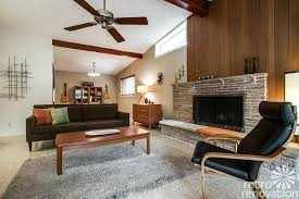 midcentury fireplace stylish idea mid century fireplace modern design time capsule house with jack n bathroom midcentury fireplace