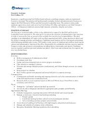 Mesmerizing Resumes Administrative Positions On Administrative assistant  Resume No Experience
