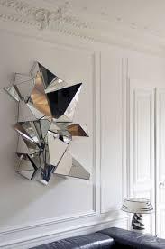 geometric mirror 3d wall art looks very unusual