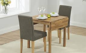 2 seater oak dining table sets