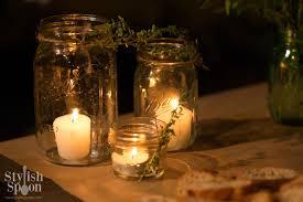 DIY :: Herb Mason Jar Candle Holders