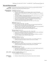 Fresh Resumes Retail Job Resume Supervisor Description Skills With