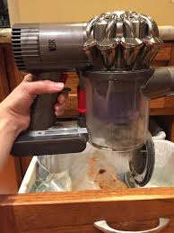 Kitchen Floor Vacuum An Epic Review Of The Dyson V6 Trigger A Supercharged Handheld
