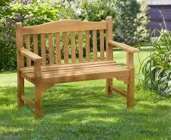 4ft commemorative bench