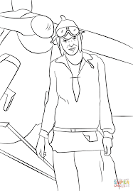 Small Picture Amelia Earhart coloring page Free Printable Coloring Pages