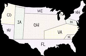 Electoral College Vote Chart Agreement Among The States To Elect The President By