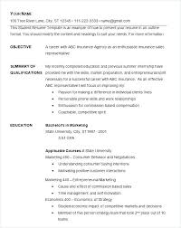 Quick Free Resume Quick Resume Template
