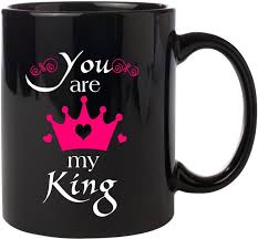 Noozarts Im Your Queen And You Are My King Quotes Lovers Gift Classy My King Quotes