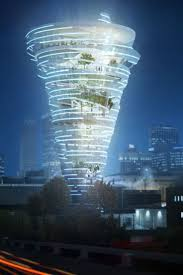 Tornado Alley Designs This Twister Shaped Tower May One Day Sit In The Heart Of