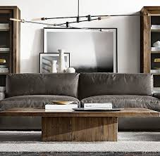 kinetic chandelier leather sofa home