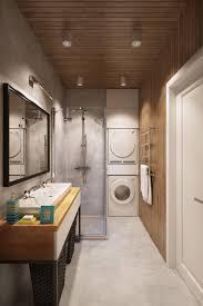 apartment bathroom designs. Interesting Bathroom View In Gallery Small Bathroom Design With Wooden Warmth To Apartment Bathroom Designs