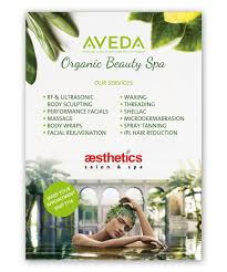 Spa Banner Design Bold Serious Beauty Salon Poster Design For Aesthetics