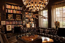 home library design decorations library furniture mysterious gothic themed home library design idea with awesome chandelier awesome home library design