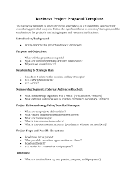 Business Project Proposal Template Business Project Proposal Example Fresh Business Project Proposal 1