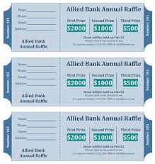 Draw Ticket Template 15 Free Raffle Ticket Templates In Microsoft Word Mail Merge