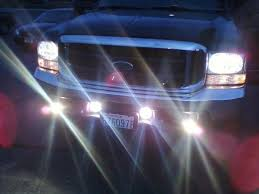 new back up lights quick easy cheap page 5 ford truck just an update new led tail lights w led reverse bulbs new head lights w sylvania 9007 ultras sylvania amber blue blinker bulbs new fog lights on