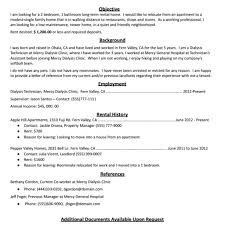 Rental Resume How To Create The Perfect Rental Resume with Company Resume 6