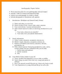 Autobiographical Autobiography Template Pdf Sample For College ...