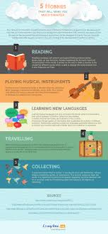 hobbies that will make you much smarter infographic e learning 5 hobbies that will make you much smarter infographic