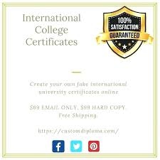 Purchase All Kind Of Fake College University Degree Diplomas