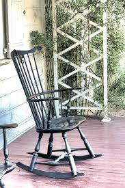 old rocking chair styles the old blue rocking chair stock image