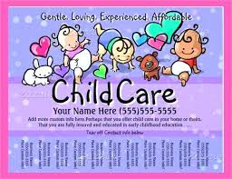 Free Printable Daycare Flyers Home Connermalloy