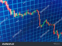 Candle Light Chart Analysis Candle Stick Graph Chart Stock Market Stock Photo 388782634