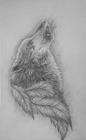 howling wolf drawing tattoo. Interesting Howling Howling Wolf Tattoo Design By ThatRandomArtist1010 On Inside Wolf Drawing T