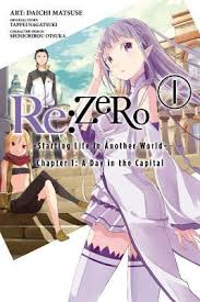 re zero starting life in another world vol 1 chapter 1 a day in the capital manga