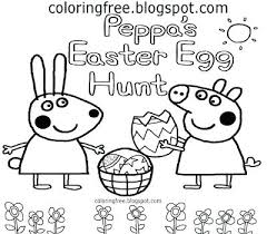 Easy Easter Coloring Pages Coloring Pages Pig Free Printable
