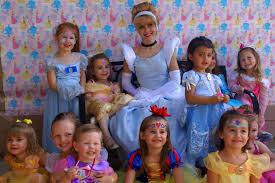 a bunch of happy princesses with fairytale friends of san antonio s cinderella