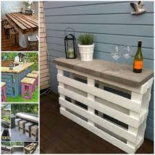pallets furniture. VIEW IN GALLERY DIY-Pallet-Bar-Table-and-Stools2 Pallets Furniture F