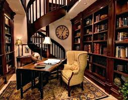 home office library ideas. Small Home Library Office Traditional Ideas