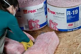 cut fiberglass insulation