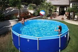round above ground swimming pools. Unique Round Summerbreezeroundpool Throughout Round Above Ground Swimming Pools