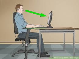 lay down desk awesome 3 ways to adjust fice chair height wikihow