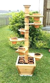 garden stand herb stands planter ideas