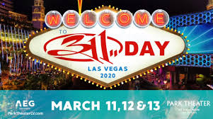 311 Announces 311 Day Gigs In Las Vegas For March 2020