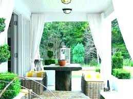 outdoor curtains for porches porch privacy screen