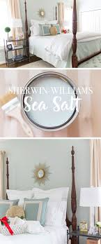 Guest Room Makeover | Sherwin Williams Sea Salt Color | Bloggers ...