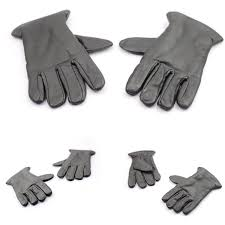 leather kids hand gloves